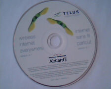 CD Telus Mobility AirCard Wireless Internet Everywhere Version 4.1 Sierra