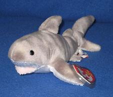 TY FINN the SHARK BEANIE BABY - MINT with MINT TAGS