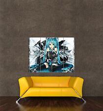Poster Print Manga Anime Muñequito Vocaloid Ihatsune Miku Japón seb744