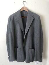 Corneliani ID Men's Wool and Cashmere Gray Jacket Blazer Coat IT50 US 40