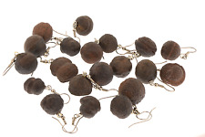 Moqui Marbles Artisan Pierced Hang Ear Rings  B42-10 LET US CHOOSE OOAK Courage