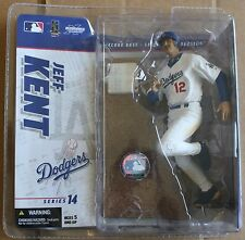 2006 Jeff Kent Los Angeles Dodgers McFarlane Series 14 Figure MLB NIP Action