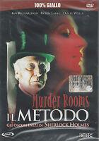 Dvd «IL METODO ♦ MURDER ROOMS ♦ GLI OSCURI INIZI DI SHERLOCK HOLMES» nuovo 2001