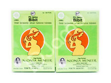 2 Pcs Jamu/Herbs Bibit Pills Fertile Aid For Woman That Difficult Pregnant