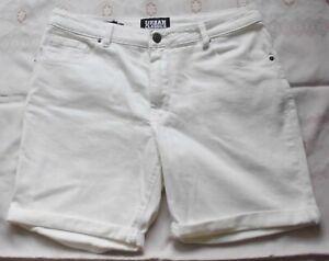 """TOP!! Herren-5 Pocket Shorts von """"URBAN CLASSICS"""" in Gr. L,weiß, Slim Fit"""