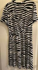 Zebra Print Design Dress by Next size 14
