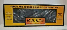 MTH RailKing 30-7411: CHESAPEAKE & OHIO (C&O) Semi-Scale Boxcar NIB