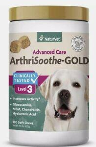 NaturVet ArthriSoothe-GOLD Level 3 Advanced Care 180 Soft Chews