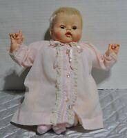 "Vintage 14"" Madame Alexander Kitten doll original dress new crier"
