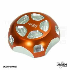 Polaris Slingshot  Gas Cap  Billet aluminum  Alba Racing  Orange