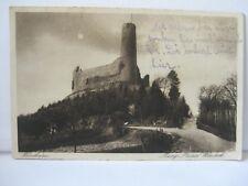 Alte AK Weinheim - Burgruine Windeck - gelaufen 1933