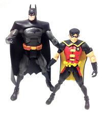 """DC Comics Justicia joven 6"""" Figuras De Acción Batman y Robin Juguete Bonito Raro Superman"""