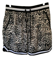 Saint Morta Black Statement Skin Basketball Hip Hop Shorts Large -Zip Pockets