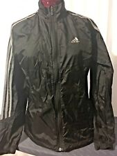 Adidas Ladies Black Running Jacket Size UK 10