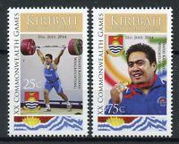 Kiribati 2014 MNH XX Commonwealth Games Glasgow 1st Gold Medal 2v Set Stamps