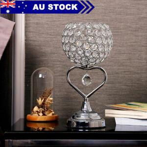 Modern Crystal Table Lamp Bedroom Light Bedside lamp  AU PLUG