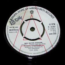 "MONTROSE Bad Motor Scooter ORIGINAL UK WB 1973 DEMO 45"""