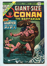 Giant-Size Conan #2- The Haunter of the Pit! - (5.5) 1974
