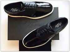 Alejandro Ingelmo Coats Black Patent Leather Oxford Shoes  US Size Men's 13 M/D