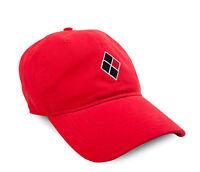 DC Comics Harley Quinn Diamond Logo Adjustable Baseball Cap