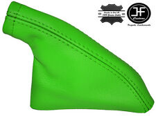 GREEN REAL LEATHER HANDBRAKE GAITER FITS S14 200SX SILVIA COUPE 1993-1999