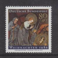 1986 WEST GERMANY MNH STAMP DEUTSCHE BUNDESPOST CHRISTMAS  SG 2149