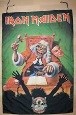 Iron Maiden, The first Ten Years Vintage Fahne, Flagge, Banner, rar, rare