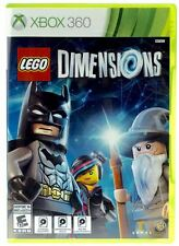 LEGO Dimensions (Microsoft Xbox 360) - REPLACEMENT GAME ONLY - FREE SHIPPING™