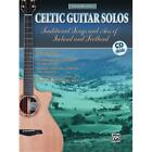 Alfred 00-25486 Acoustic Masterclass Series- Celtic Guitar Solos - Music Book