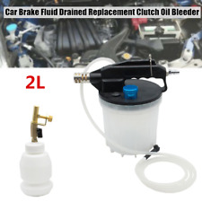 2L Car Brake Fluid Drained Replacement Tool Clutch Oil Bleeder Oiler Universal
