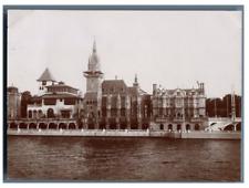 France, Paris, Pavillon de Bosnie, de la Hongrie et d'Angleterre  vintage c