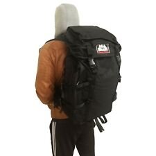 Black Travel Backpack | Extra Large Rucksack for Hiking Camping Urban Mule NEW