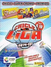 CHICLES DE LA LIGA ESTE 14/15 ESCOGE 10 CROMOS DEL LISTADO ACTUALIZADO