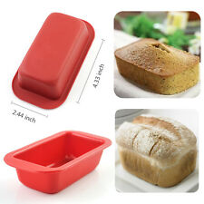 Mini Loaf Toast Bread Set Of 6 Baking Pans No-stick Cake Silicone Bakeware Mold
