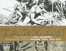 Tarzan: Complete Russ Manning Newspaper Strips Vol 2 (1969-1971) HC 2013 IDW