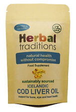 Icelandic Cod Liver Oil (Sustainably Sourced) - Halal & Kosher