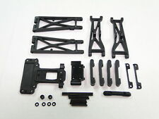 NEW TEAM ASSOCIATED SC10 2WD Arms Front & Rear +Hinge Pins & Mounts SC10.3 AT1