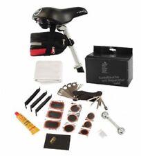 Satteltasche mit Reparatur-Set Fahrrad Fahrradtasche erweiterbar Werkzeug Tasche