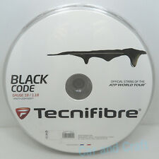 Tecnifibre Black Code 660ft 200m Reel Polyester Tennis String Gauge 18/17