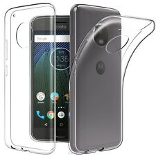 Soft Gel Clear Transparent Case Cover For Motorola Moto G2 G3 G4 G5|G5 Plus E4