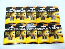 20 Duracell MN21 Alkaline Batterie  12V 33mAh (10x2er Blister)  A23/V23GA/LR50