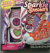 New! Sparkle Sneakers by Creative Kids one (1) set