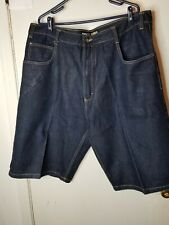 Southpole Mens Blue Jean Shorts Size 44 Pre-owned