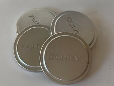 Genuine Contax Kyocera Metal Lens Cap 57GK-54 Made In Japan G2 Fits 16mm Hologon