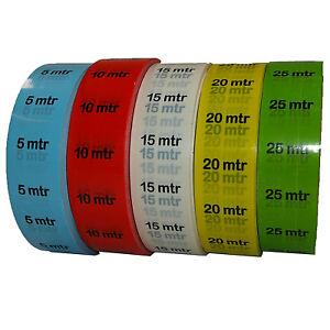 Marker Tape Kabelmarkierung Klebeband 25mm x 33m Wasserfestes Markierungsband