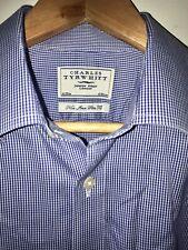 "Charles Tyrwhitt Premium Cotton Non Iron Slim Fit Formal Shirt. 16"" Collar. Blue"