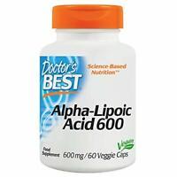Doctor's Best Alpha-Lipoic Acid 600 600 mg 60 Veg Caps