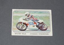 N°116 WALTER VILLA YAMAHA VENEMOTOS ALBUM PANINI MOTO SPORT 1979