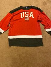 Vintage Polo Usa Hockey Jersey