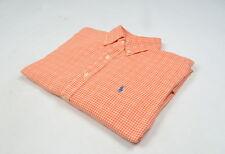 Ralph Lauren Coupe Ajustée Hommes Chemise Coton Taille L, Véritable